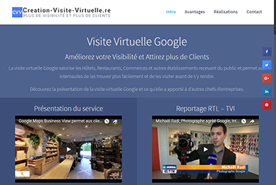 Création Visite Virtuelle